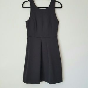 Madewell scuba fit and flare dress